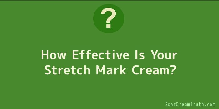 How Effective Is Your Stretch Mark Cream